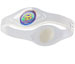 Power Balance Armband Silikon clear/weiss