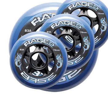 BASE Rage.2 Hockey Outdoor Pro Rolle 4er Set 83A