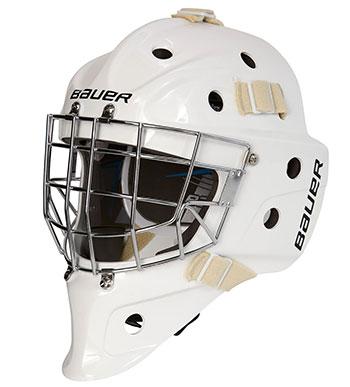 Bauer 930 Bambini Eishockey Torwartmaske weiss
