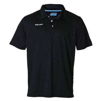 Bauer Core Team Hockey Polo Senior schwarz