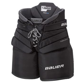 Bauer Elite Eishockey Torwart Schutzhose Senior schwarz