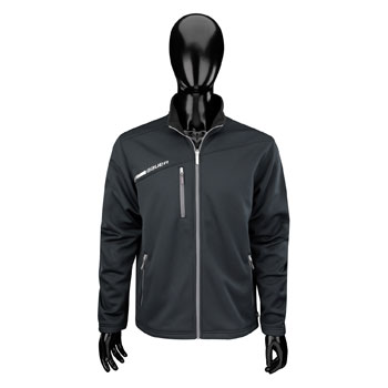 Bauer Full Zip Fleece Flex Tech Jacke Senior schwarz