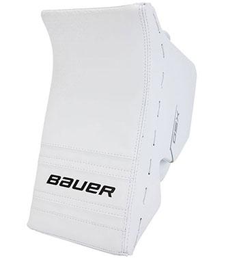 Bauer GSX Torwart Stockhand Junior Blocker weiss