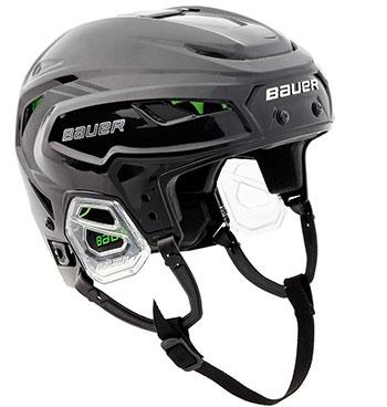 Bauer Hyperlite Helm Senior Schwarz