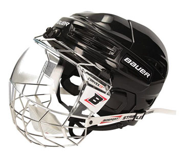 Bauer IMS 5.0 Helm + Vollvisier Concept 3 Senior (Bundle)
