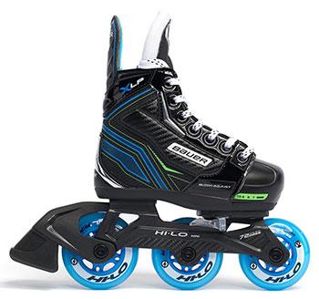 Bauer Inline und Street Hockey Skate X-LP verstellbar Kinder