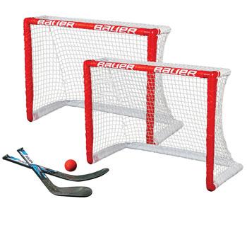 """Bauer Knie Hockey Tor 2 x 30.5"""" inkl. Schläger u. einen Ball"""