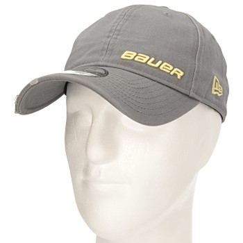 Bauer New Era 9Twenty verstellbare Cap Senior grau