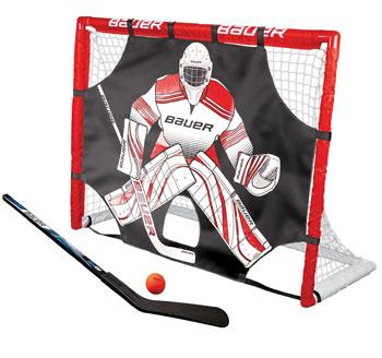 """Bauer Street Hockey Tor Set 48"""" incl. Shooter, Schläger,Ball"""