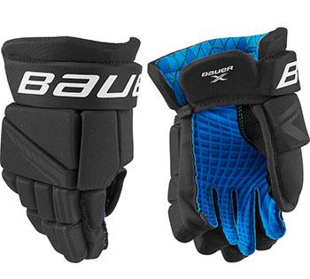 Bauer X Handschuh Senior schwarz