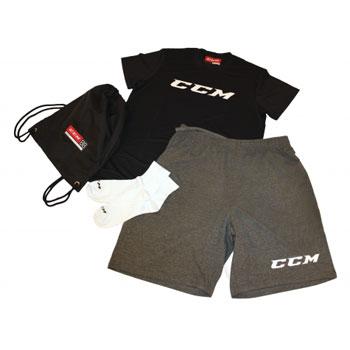 CCM Dryland Kit Senior schwarz-grau-weiß