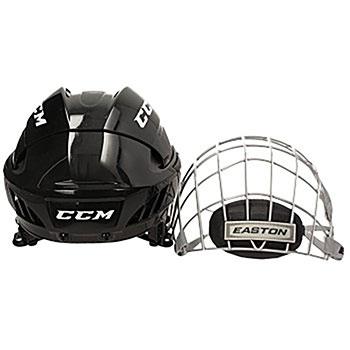 CCM Fitlite 40 Helm Combo mit hochwertigen Easton Gitter