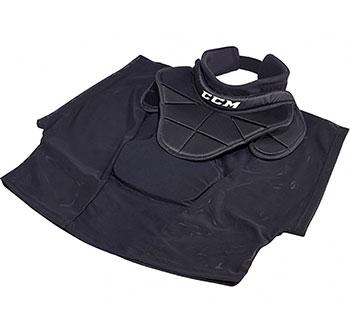 CCM Halsschutz BNQ Shirt TC Pro ACC Torwart Junior