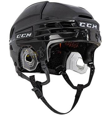 CCM Super Tacks X Helm Senior Schwarz