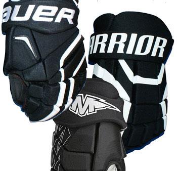 Eishockey Handschuh Restposten wahllos aus dem Regal Junior
