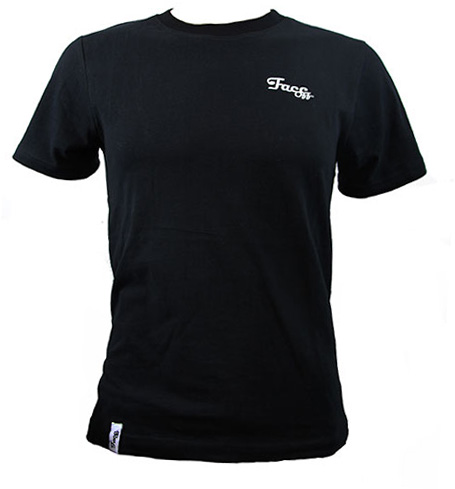 FaceOff Carbon Finish T-Shirt Schwarz