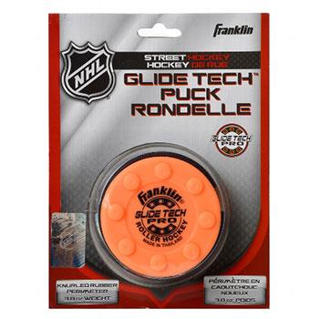 Franklin NHL Glide Tech Pro Puck für Strassen orange