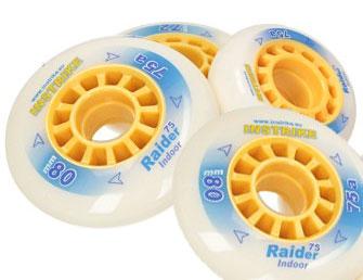 INSTRIKE Raider 75A Rolle 4er Set Indoor Profi Wheel