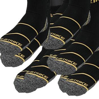 Instrike Tighty Woven Sky 5er Pack Skate Socken kurz