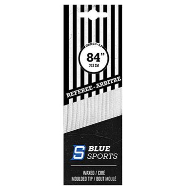 Schiedsrichter Schnürsenkel Pro Blue Sport Senkel Eishockey