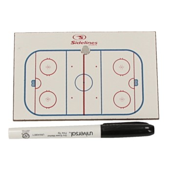 """Sport Partner kleine Taktiktafel Eishockey (3"""" x 5"""")"""