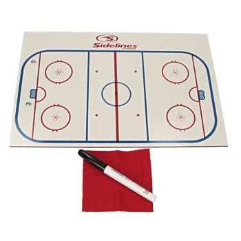 "Sport Partner Taktiktafel Eishockey (9""x13"") (24 x 34 cm)"