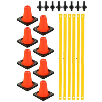 Ultimatives Hockey Trainer Set - Pylon Plus