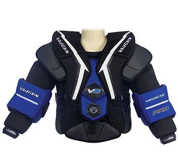 Vaughn Velocity VE9 Pro Arm-Brust-Schulterschutz Senior