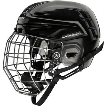 Warrior Alpha One Pro Helm Combo Senior schwarz