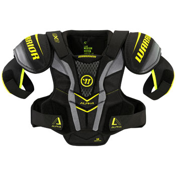Warrior Alpha QX 3 Schulterschutz Junior