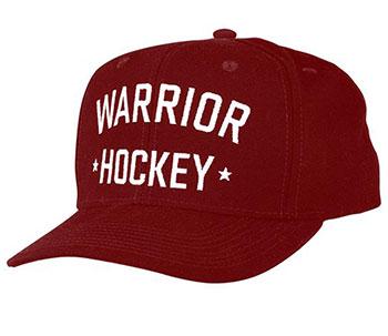 Warrior Hockey Snap Back Cap onesize burgund Senior