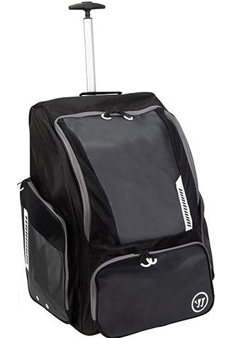 Warrior Pro Rollen Rucksack - Wheel-Backpack schwarz