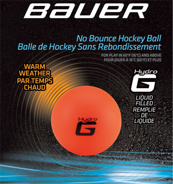 BAUER Hydrog Ball - Liquid filled orange - (2)