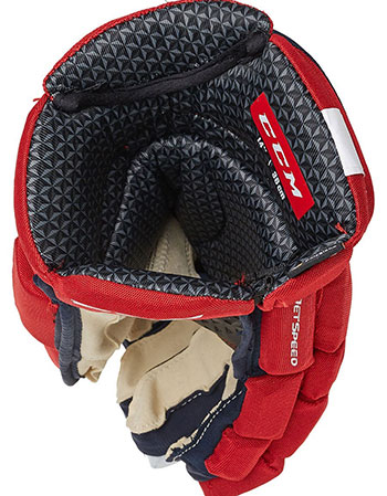 CCM Jetspeed FT390 Handschuh LE Junior navy-rot-weiss (3)