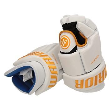 Warrior Covert Team Handschuh Senior weiß-gold Größe-Handschuh